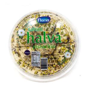 Tahini Halva- Pistachios Flavored 1.55LB 100% Premium Quality Free Shipping