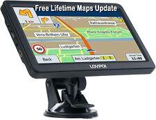 "LOVPOI Truck Car Sat Nav 7"" 2020 UK Europe Ireland Maps Free Lifetime Updates"