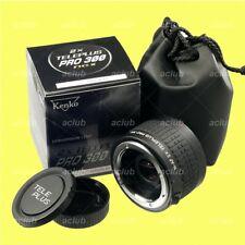 Genuine Kenko Teleplus Pro 300 DGX 2X Teleconverter 2.0X for Nikon AF