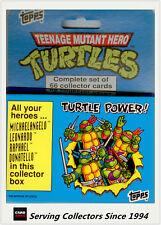 1990 Topps Teenage Mutant Hero Turtles Card Full Set(66)(Ireland) x 3 Sets-value