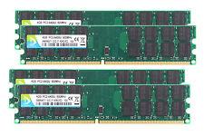 16GB 4X 4GB PC2-6400 DDR2-800MHZ 240pin DIMM Desktop Memory AMD Motherboard