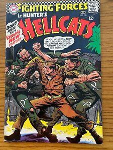 OUR FIGHTING FORCES   #106  DC 1967  LT. HUNTER'S HELLCATS   (War)  KUBERT CVR