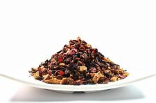 Cranberry Apple Fruit Herbal Tea Good Iced Tea loose Leaf Tea Caffeine Free 8 OZ
