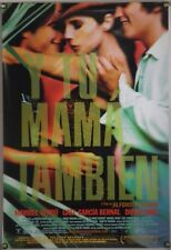 Y Tu Mama Tambien Ds Rolled Orig 1Sh Movie Poster Gael Garcia Bernal (2001)