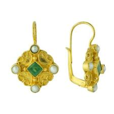 Georgian Emerald and Pearl Earrings: Museum of Jewelry