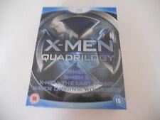 X-MEN QUADRILOGY UK BLU RAY DVD NEW SEALED