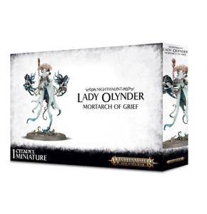 Nighthaunt Lady Olynder, Mortarch of Grief Age of Sigmar BNIB