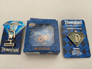 disneyland 60th anniversary pin Lot