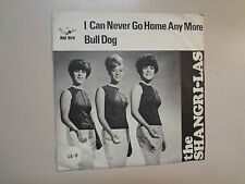 "SHANGRI-LAS:I Can Never Go Home Anymore-Bull Dog-Sweden 7"" 65 Red Bird LS-9 PSL"