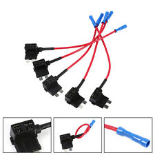 5x Auto Car Add Circuit Piggy Back Tap Standard Blade Fuse Boxes Holder ATO ATC