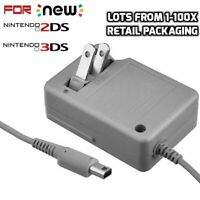 1-100 Lot Nintendo 3DS XL Rapid Home Travel Charger 2DS  LL  Wall Adapter