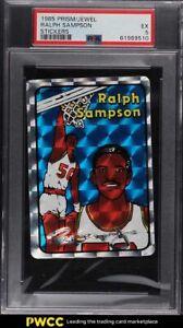 1985 Prism Jewel Stickers Basketball Ralph Sampson PSA 5 EX