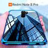 COVER per Xiaomi Redmi Note 8 Pro CUSTODIA ELECTRO + PELLICOLA VETRO TEMPERATO