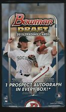 2015 Bowman Draft Baseball Factory Sealed 24 Pack Hobby Box Prospect Autographs