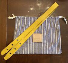 COACH Legacy Duffle Kit Sunflower yellow 21848 bag strap