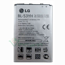 Batteria originale LG BL-53YH 3000mAh per G3 D855 bulk 3,8V ricambio sostitutiva