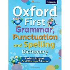 Oxford First Grammar, Punctuation and Spelling Dictionary by Richard Hudson, Jenny Roberts (Mixed media product, 2016)