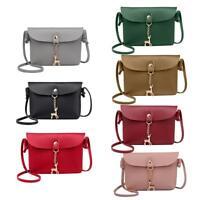 Women's Shoulder Bag PU Leather Messenger Crossbody Phone Handbags Purse Satchel