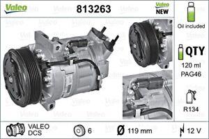 VALEO Compressor AC Air Conditioning Fits RENAULT Megane MPV 2.0L 8200869742