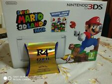 MARIO LAND 3D PACK ICE WITHE 3DS NINTENDO+R4 GOLD