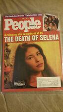 Selena Quintanilla People Magazine 1995 Selena mag 4/17/95 Bagged since 1st day!