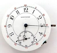 RARE c1882 LONGINES LEVER SET POCKET WATCH HIGH GRADE MOVEMENT & DIAL.