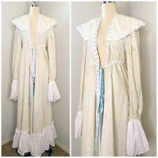 Reproduction Vintage Long Dress Robe Size S/M Colonial Renaissance Larp CosPlay