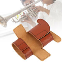 TRUMPET FAUX LEATHER VALVES GUARD PROTECTION COVER MUSIC INSTRUMENT TOOL SMART