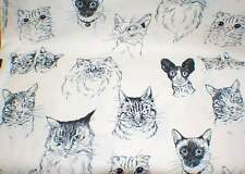 """MEOW Wow Wow"" Fabric by Alexander Henry-100% Cotton"