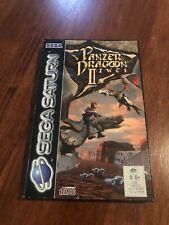 Panzer Dragoon II Zwei Sega Saturn Game