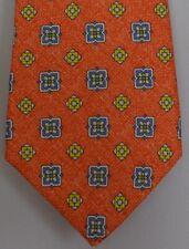"""Kiton Napoli Mens 7 Fold Handmade Woven Neat Tie NEW 59"""" X 3.5"""" SKU B32/56 $290"""