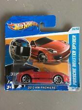 Hot wheels Porsche Boxster Spyder