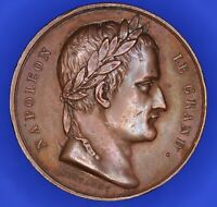 French France Napoleon Completion of the Arc de Triomphe Medal 1836 25mm [18180]