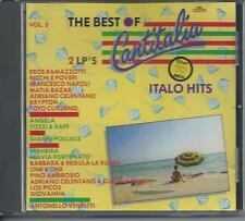 V/A - The Best of Cantitalia VOL. 5 CD Album 19TR Italo Disco 1987 SWITZERLAND