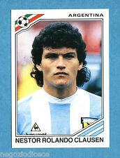 MEXICO 86 - Panini -Figurina-Sticker n. 75 - CLAUSEN - ARGENTINA -Rec