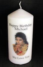 Cellini Candles Birthday Michael Jackson  Unique Gift Collector Pop Icon #1