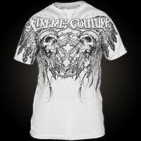 Xtreme Couture AFFLICTION Mens T-Shirt DESTINY Skulls Tattoo Biker S-XL $40