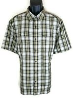 North Face Men Shirt Size XL Extra Large New Moisture Wick Short Sleeve Button