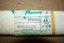 High Speed aircraft drill bit #20