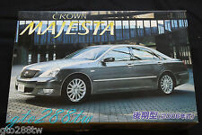 Aoshima 1/24 scale Toyota Crown Majesta 2006 Later Type(UZS186) w/LOW DOWN kit