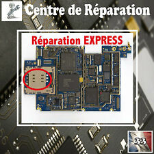 Réparation connecteur LECTEUR SIM iphone 3G 3GS / Repair connector ( PRO )