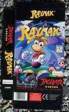 Display Box Rayman Game Atari Jaguar New