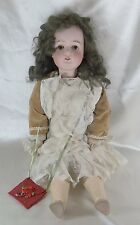 "Antique Armand Marseille Queen Louise Doll Bisque & Composition 25"" Ball Jointed"