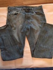Mens Levi Strauss Jeans 501 32/32 Burton Fly EUC Teen Mens Light Wash