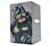 Custom Silver Full Metal Alchemist Ultra Pro Satin Tower Deckbox mtg pokemon