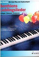 Keyboard / Klavier Noten : Benthiens Lieblingslieder für Keyboard u Klavier