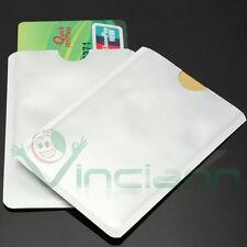 Custodia astuccio porta schede portafoglio protezione Carta di credito Bancomat