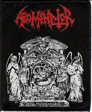 Abominator  Evil Patch Nuclear War Now Cemetary Urn Death Metal Hells Headbanger