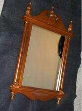 Antique Chippendale Mahogany Wood Wall Mirror