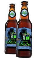 Iron Maiden Trooper FEAR OF THE DARK Beer Bottle Robinsons Bottle EMPTY NEW